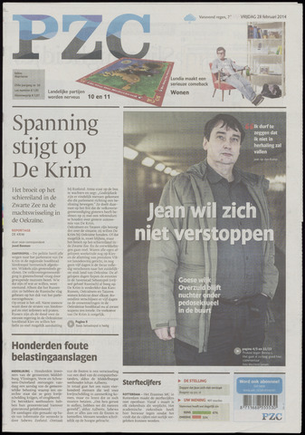 Provinciale Zeeuwse Courant 2014-02-28
