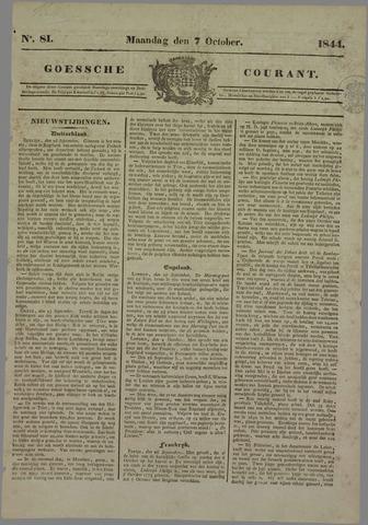 Goessche Courant 1844-10-07