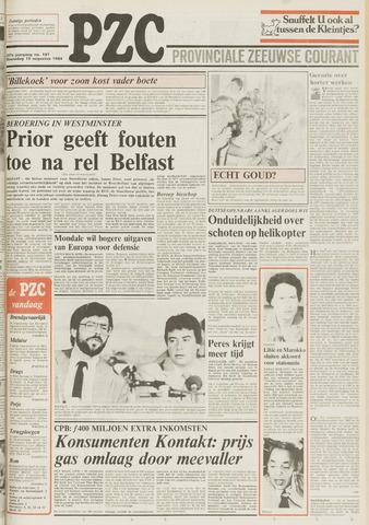 Provinciale Zeeuwse Courant 1984-08-15