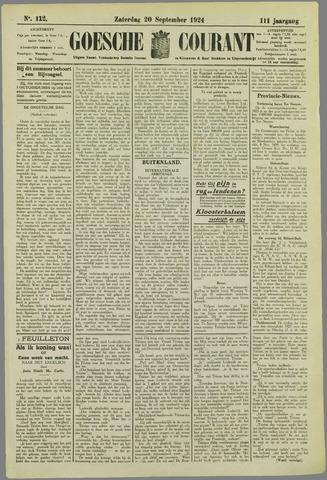 Goessche Courant 1924-09-20