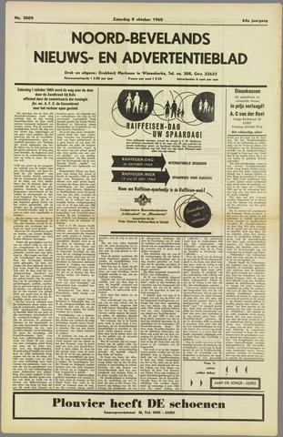 Noord-Bevelands Nieuws- en advertentieblad 1960-10-08