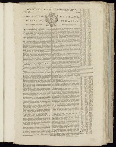 Middelburgsche Courant 1801-07-14