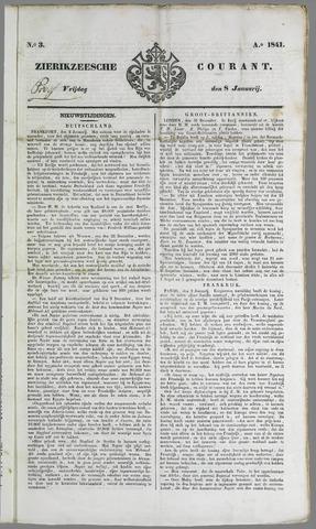 Zierikzeesche Courant 1841