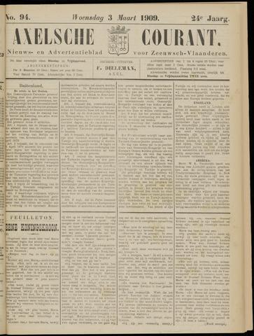 Axelsche Courant 1909-03-03
