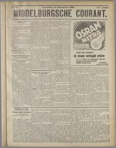 Middelburgsche Courant 1921-12-10