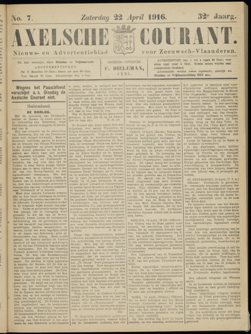 Axelsche Courant 1916-04-22