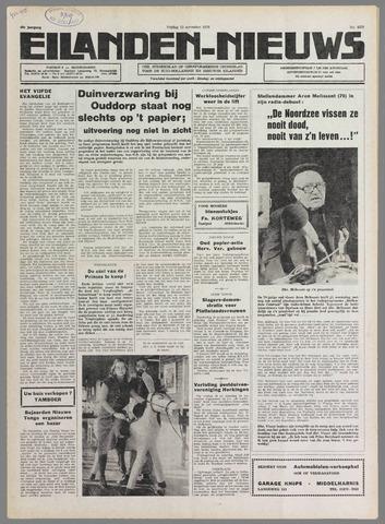Eilanden-nieuws. Christelijk streekblad op gereformeerde grondslag 1976-11-12