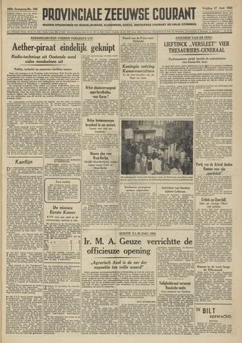 Provinciale Zeeuwse Courant 1952-06-27