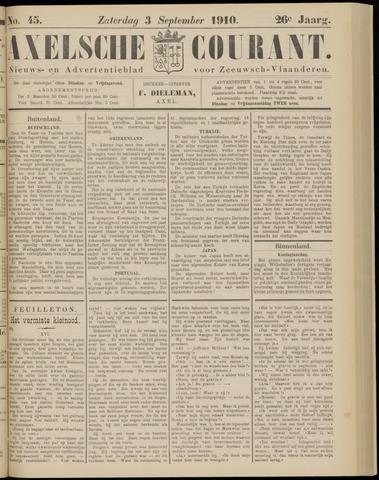 Axelsche Courant 1910-09-03
