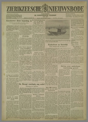 Zierikzeesche Nieuwsbode 1954-01-22