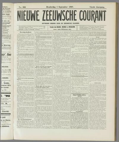 Nieuwe Zeeuwsche Courant 1908-09-03