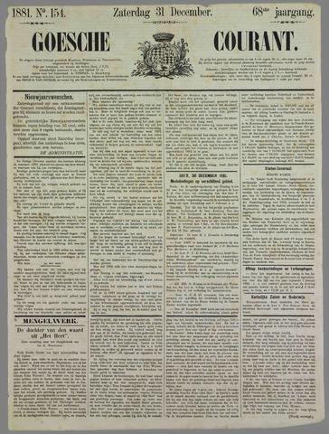 Goessche Courant 1881-12-31