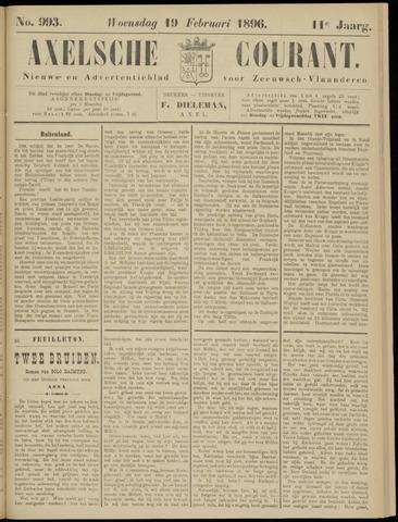 Axelsche Courant 1896-02-19