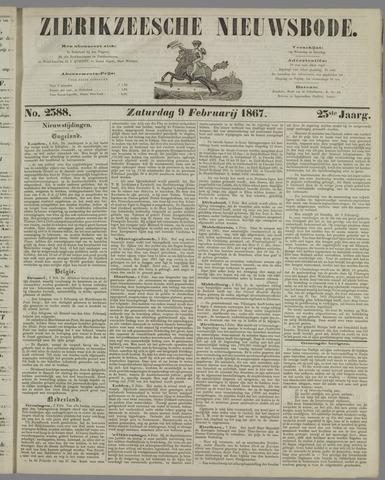 Zierikzeesche Nieuwsbode 1867-02-09