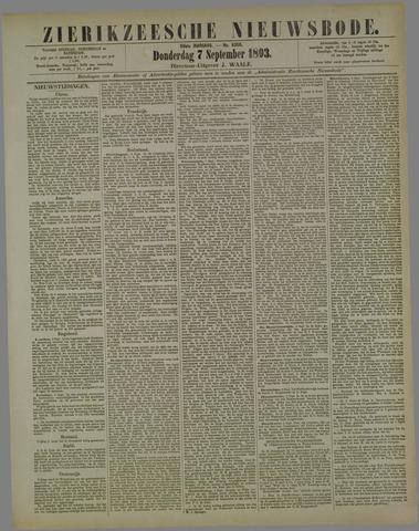 Zierikzeesche Nieuwsbode 1893-09-07