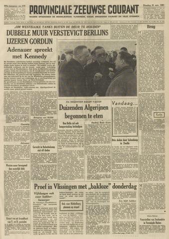 Provinciale Zeeuwse Courant 1961-11-21