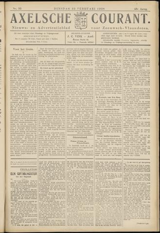 Axelsche Courant 1938-02-22