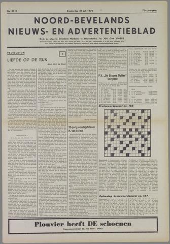 Noord-Bevelands Nieuws- en advertentieblad 1970-07-23