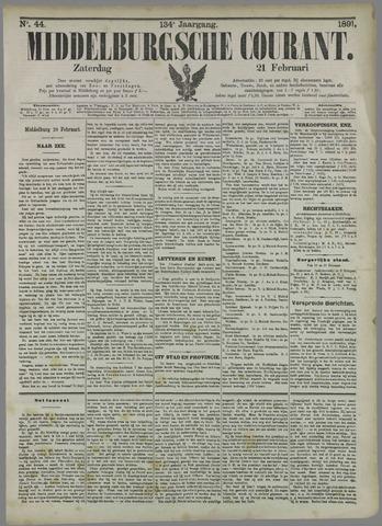 Middelburgsche Courant 1891-02-21