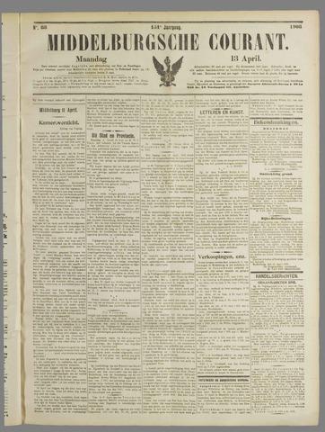 Middelburgsche Courant 1908-04-13