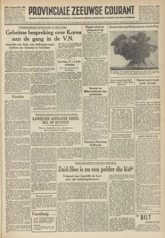 Provinciale Zeeuwse Courant 1952-10-25