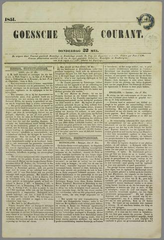 Goessche Courant 1851-05-22