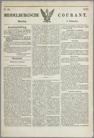 Middelburgsche Courant 1872-02-05