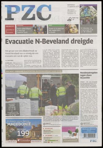 Provinciale Zeeuwse Courant 2013-09-11