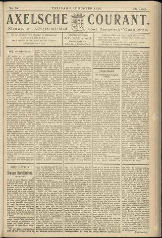 Axelsche Courant 1926-08-06