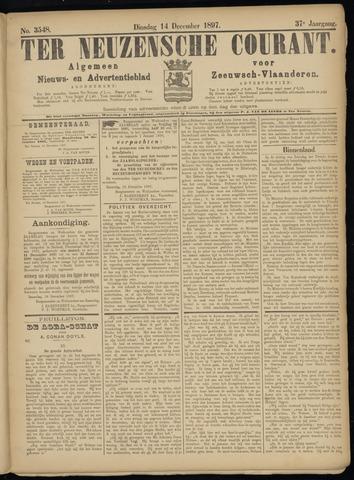 Ter Neuzensche Courant. Algemeen Nieuws- en Advertentieblad voor Zeeuwsch-Vlaanderen / Neuzensche Courant ... (idem) / (Algemeen) nieuws en advertentieblad voor Zeeuwsch-Vlaanderen 1897-12-14