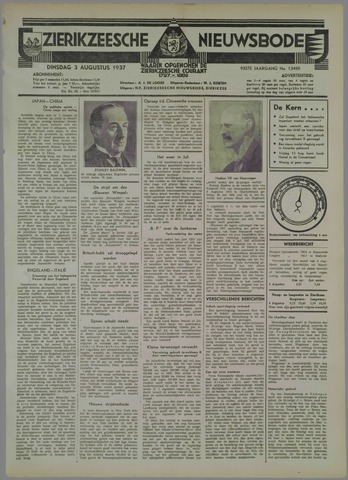 Zierikzeesche Nieuwsbode 1937-08-03