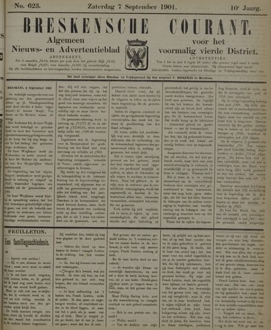 Breskensche Courant 1901-09-07