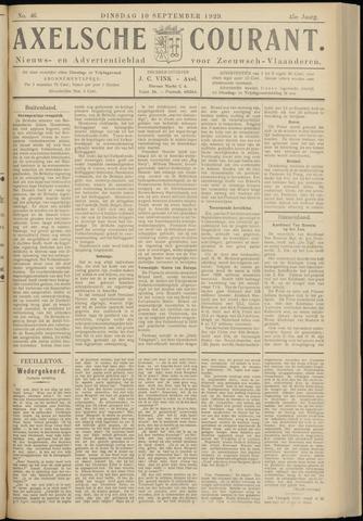 Axelsche Courant 1929-09-10