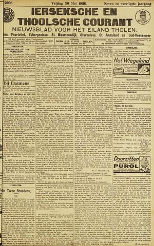 Ierseksche en Thoolsche Courant 1930-05-30