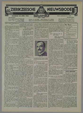 Zierikzeesche Nieuwsbode 1936-04-20