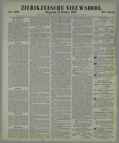 Zierikzeesche Nieuwsbode 1881-10-11