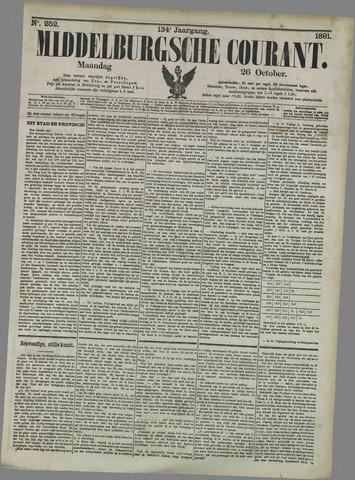 Middelburgsche Courant 1891-10-26