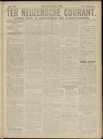 Ter Neuzensche Courant. Algemeen Nieuws- en Advertentieblad voor Zeeuwsch-Vlaanderen / Neuzensche Courant ... (idem) / (Algemeen) nieuws en advertentieblad voor Zeeuwsch-Vlaanderen 1920-05-29