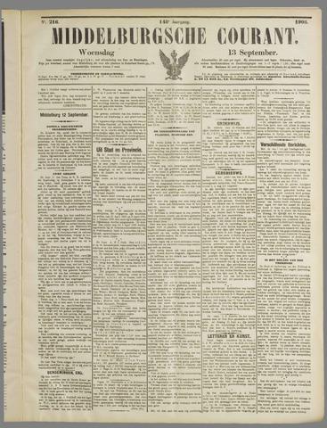 Middelburgsche Courant 1905-09-13