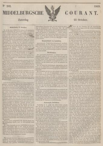 Middelburgsche Courant 1869-10-23