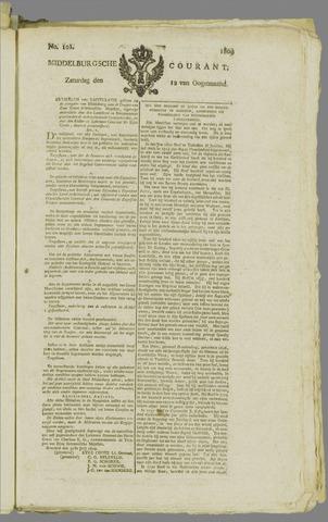 Middelburgsche Courant 1809-08-12