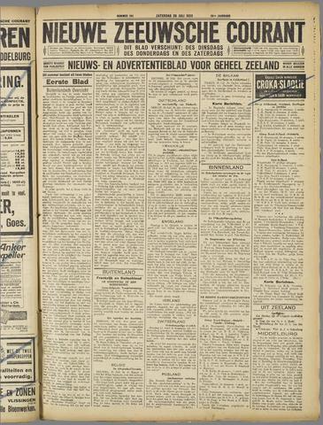 Nieuwe Zeeuwsche Courant 1923-07-28