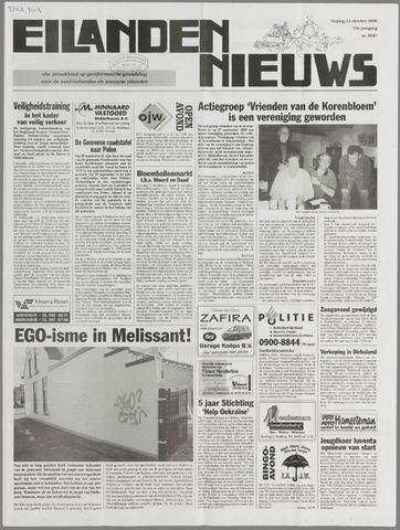 Eilanden-nieuws. Christelijk streekblad op gereformeerde grondslag 2000-10-13