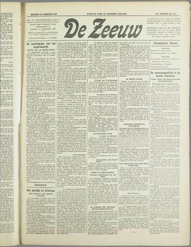 De Zeeuw. Christelijk-historisch nieuwsblad voor Zeeland 1937-08-23
