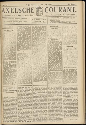Axelsche Courant 1936-01-31