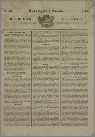 Goessche Courant 1844-12-05