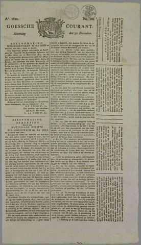 Goessche Courant 1822-12-30