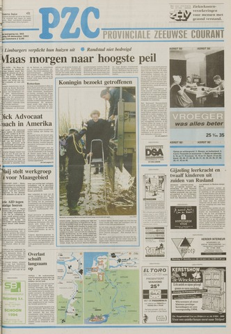 Provinciale Zeeuwse Courant 1993-12-24