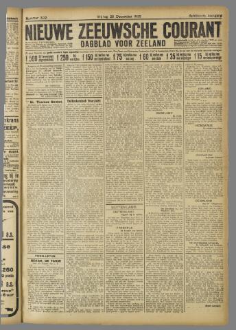 Nieuwe Zeeuwsche Courant 1922-12-29