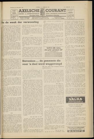 Axelsche Courant 1953-02-14